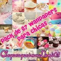 Pack de wallpapers para chicas by ChequeaqueamoaDemi01