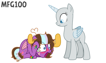 Mlp Collab- Moose is Here, I can't talk to him by MixelFanGirl100