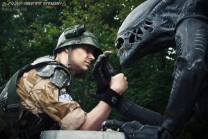 Aliens: Colonial Marines in a nutshell by DarthInvidia