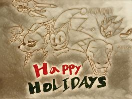 DeviantArt Holidays w/ Hiccup and Friends by Hiccup-Hedgehog18