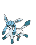 Poofy Butt Glaceon by Senpai-is-Shadow