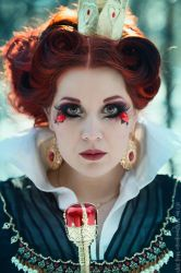 Queen of Hearts Portrait by MADmoiselleMeli