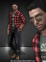 Chris Redfield - RE1 Casual by JhonyHebert