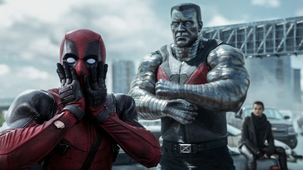 Deadpool, Colossus and Negasonic Teenage Warhead by foxylvr2189