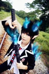 Ao No Exorcist II by YAsuukun