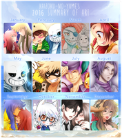 2016 Summary of Art by Kaizoku-no-Yume