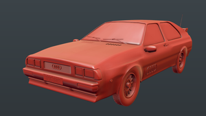 Audi Quattro 1980 - Blender Model by JoeyBlendhead