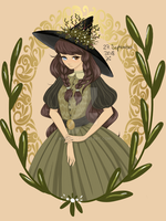 Draw-This-In-Your-Style-Challenge: Witch by khyfie