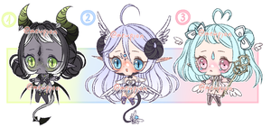 ADOPTS: Mixed Batch [1/3 OPEN] by Mewpyonadopts