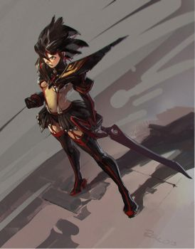 Kill la Kill - Ryuko by Benlo