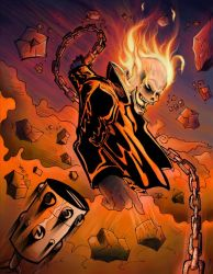 Ghost Rider Collab by Dancore