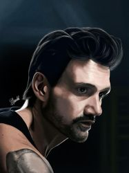 Frank Grillo by hwoary