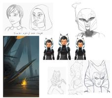 SW sketchdump by Montano-Fausto