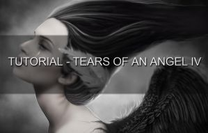 TUTORIAL: Tears of an Angel IV by MirellaSantana