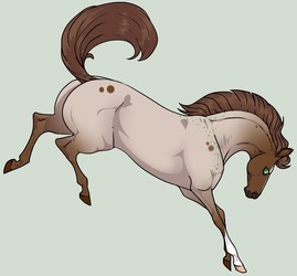 N4793 Justin [Natural Stallion] by Plants-And-Tattoos