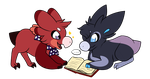 Wyngro | ''whatcha reading?'' by Fimblebee