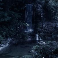 Waterfall by PoussiereObsidienne