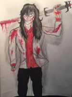Jeff the Killer/ Jefferson Gray by JOSHRAMBO123