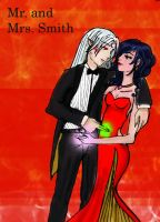 SessKag- Mr. Mrs. Smith by Ookamy