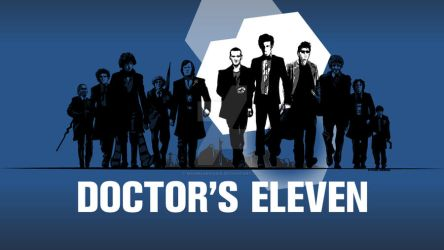Doctor's Eleven REQUESTED wallpaper blue edition by Magmakensuke