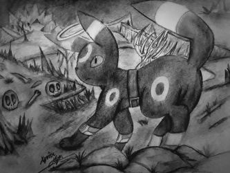 Anubis, the Umbreon by Xyvier