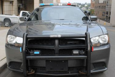 Animated Police Dodge Charger by Seluryar