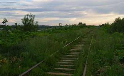 Old railroad by msdte