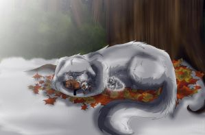 Cold Winter's Night by MoonXRusset