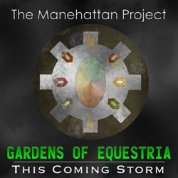 The Manehattan Project - This Coming Storm Logo by MLP-NovelIdea