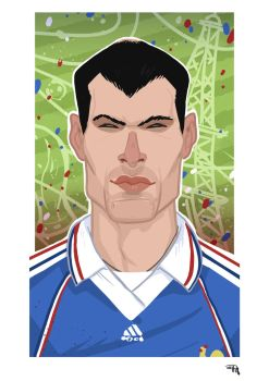Zinedine Zidane by DenisM79