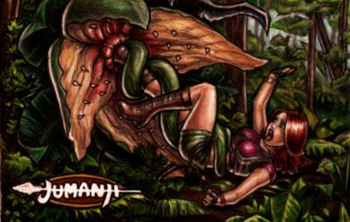 Jumanji Plant by Covert-Operations