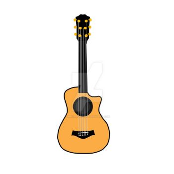 Guitar Vector Stamp by MHuang51491