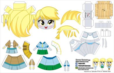 Derpy Equestria Girls (JCG057) by ELJOEYDESIGNS