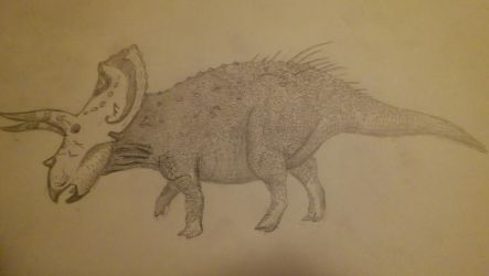 Eotriceratops by TyrannosaurusLives00