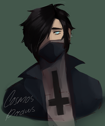 Zane Ro'Meave [Minecraft Diaries] by Cosmos-Draws