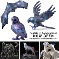 Sculpture Commissions - NOW CLOSED! by emilySculpts