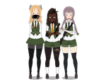 BNHA Villain Group: Girl Scouts by TheDerpyLittleLamb