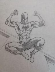 Spiderman by mr-ss