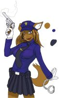 09 09 CopGirl by blu3fox