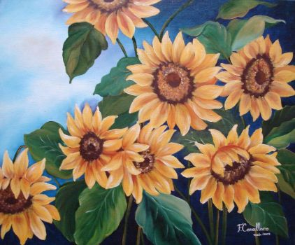 Sunflowers by artedafefe