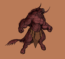 Minotaur by krigg