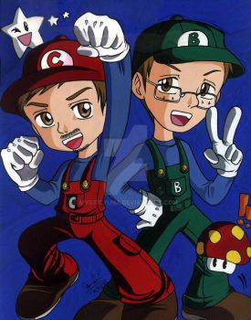 Super Tomlinson Brothers by MysticYuna