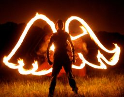 Fire-Winged Angel by MD-Arts