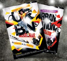 Urban Nation Party Flyer by satgur