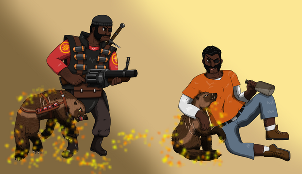 Demoman profile by vildtiger
