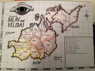 The Land of Silav and Velisai by CaptainJonnypants