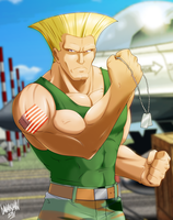 Guile by DANMAKUMAN