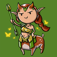 Dota Fanart v2 - Enchantress by KidneyShake