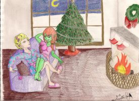 A Simple Christmas by LaceX-Foxypowow