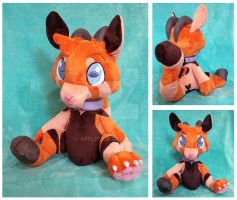 Auviere Plushie by AppleDew